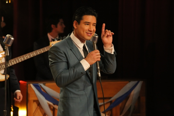 GREASE: LIVE: Mario Lopez rehearses for GREASE: LIVE airing LIVE Sunday, Jan. 31, 2016 (7:00-10:00 PM ET live/PT tape-delayed), on FOX. © 2016 Fox Broadcasting CO. Cr: Kevin Estrada/FOX