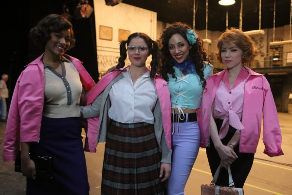 GREASE: LIVE: (L-R) Keke Palmer, Kether Donohue, Yvette Gonzalez-Nacer and Carly Rae Jepsen rehearse for GREASE: LIVE airing LIVE Sunday, Jan. 31, 2016 (7:00-10:00 PM ET live/PT tape-delayed), on FOX. © 2016 Fox Broadcasting CO. Cr: Kevin Estrada/FOX