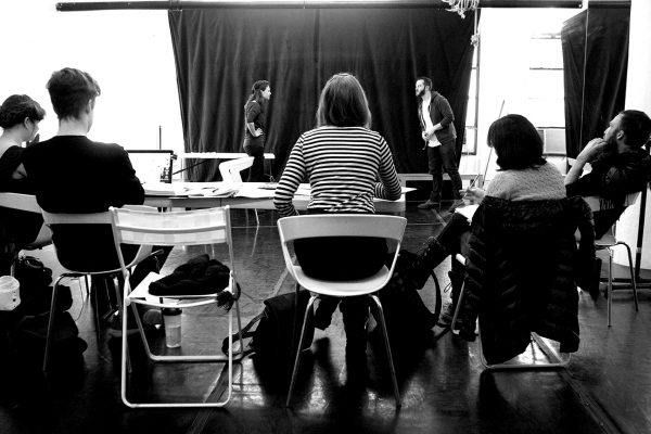 Photo Flash: Inside Rehearsals for U.S. Premiere of THE GOOD GIRL at 59E59 Theaters