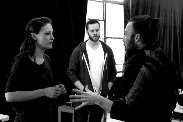 Leah Gabriel, Giacomo Baessato, Adam Fitzgerald Photo