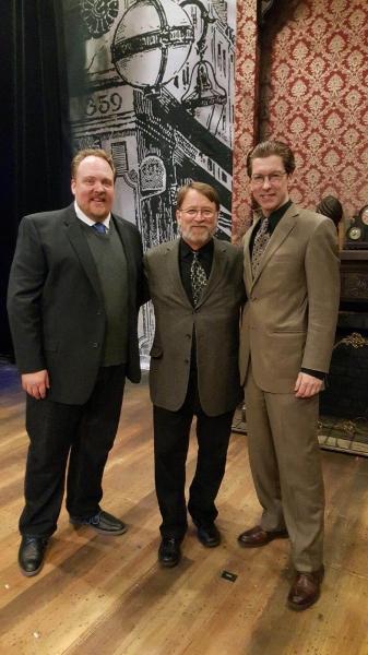 Photo Flash: Opening Night Celebration of Mercury Theater Chicago's THE MAN WHO MURDERED SHERLOCK HOLMES