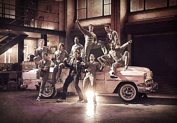 Photo Flash: They Go Together! Inside GREASE: LIVE Rehearsals with Aaron Tveit, Julianne Hough, Vanessa Hudgens, and More