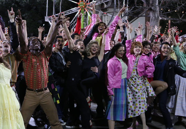 Photo Flash: They Go Together! Cast of GREASE: LIVE Take Their Bows