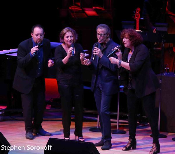 Trist Curless, Janis Siegel, Alan Paul, Cheryl Bentyne, The Manhattan Transfer