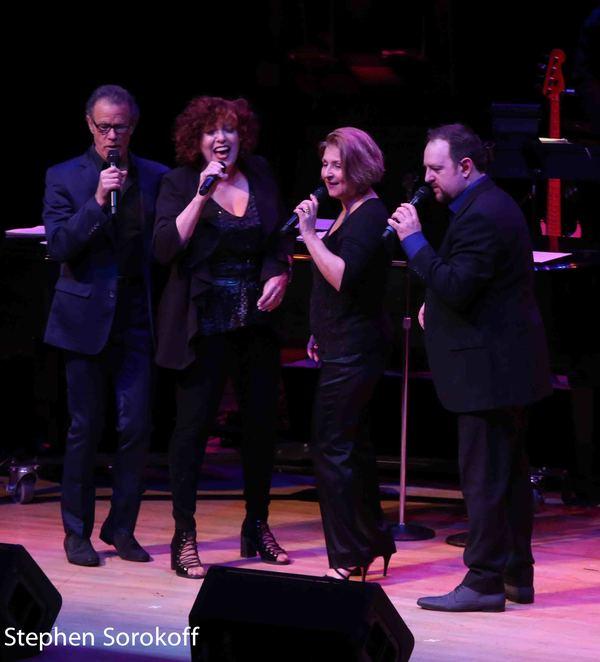 Alan Paul, Cheryl Bentyne, Janis Siegel, Trist Curless