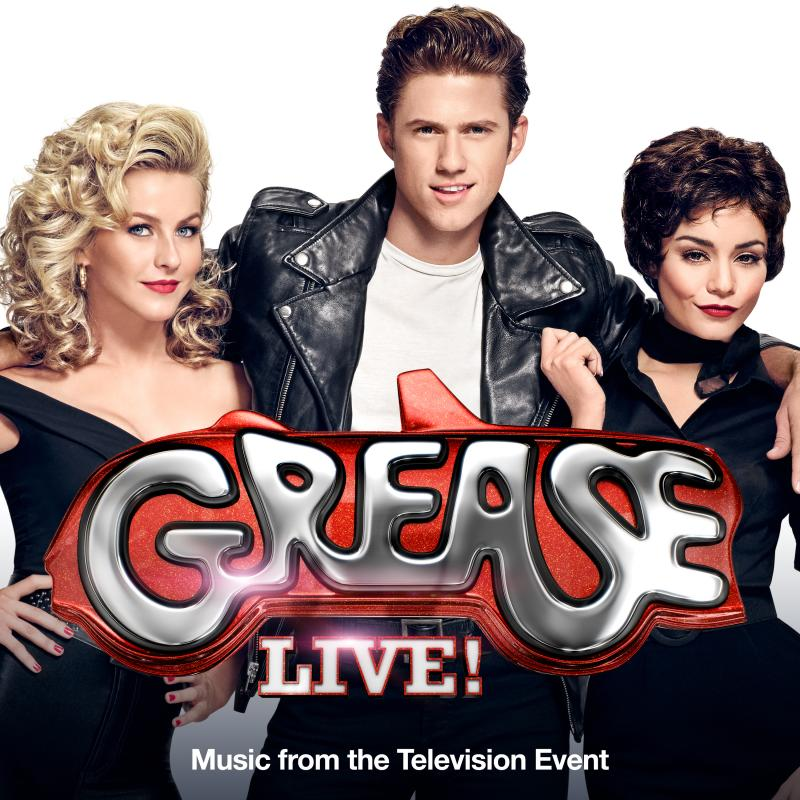 GREASE: LIVE Official Soundtrack Album Debuts at #5 on iTunes!