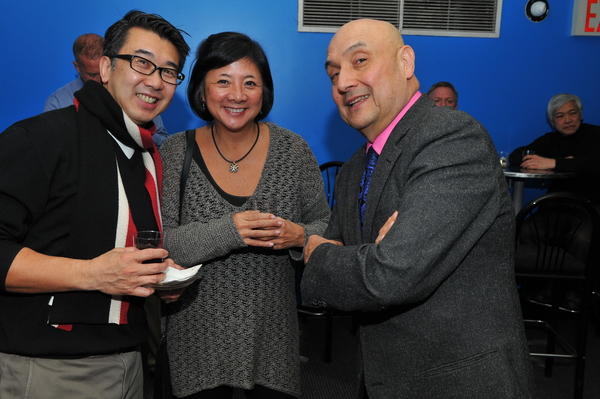 Board members David Fung, Dora Lu and Tamio Spiegel
