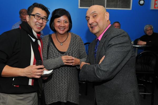 Board members David Fung, Dora Lu and Tamio Spiegel