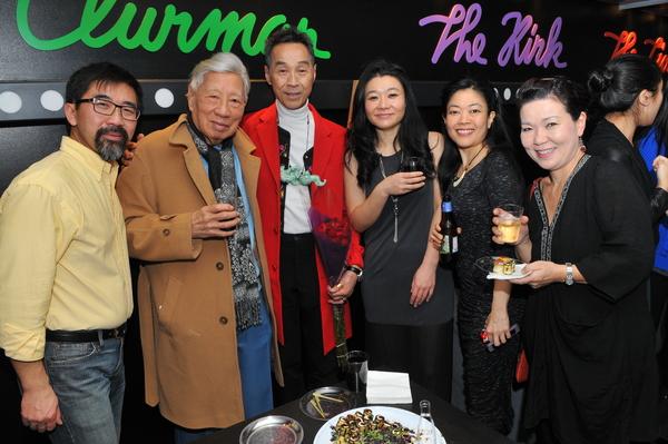 Fenton Li, Wallace Wong, Lu Yu, EJ An, Allison Hiroto and Shigeko Sara Suga