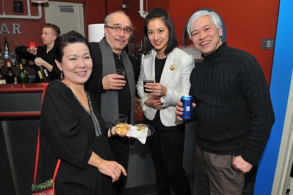 Shigeko Sara Suga, Raul Aranas, Mandarin Wu and Michael G Chin