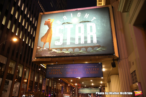 Up on the Marquee: BRIGHT STAR