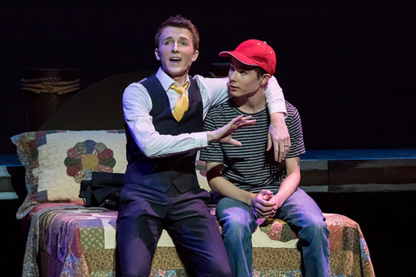 BIG FISH - Faith Conservatory - Las Vegas - Edward Bloom (Jackson Langford) And Will  Photo