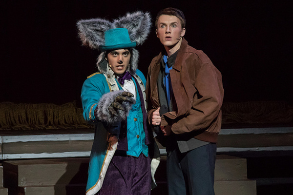BIG FISH - Faith Conservatory - Las Vegas Edward Bloom (Jackson Langford) and Kyle Go Photo