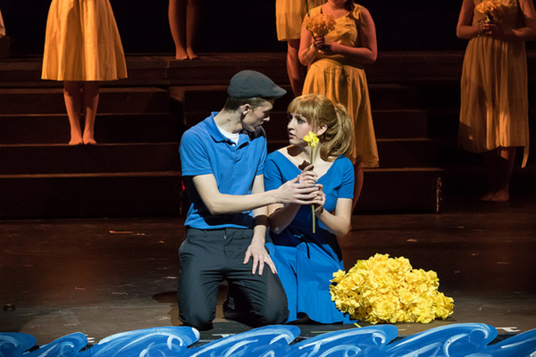 BIG FISH - Faith Conservatory - Las Vegas Edward Bloom (Jackson Langford) and Sandra Bloom (Jessica Ruettiger)