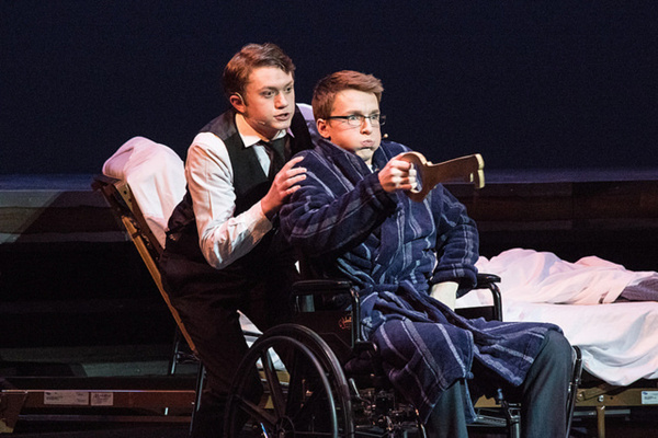 BIG FISH - Faith Conservatory - Las Vegas Will Bloom ( Matt D''Arrigo) and Edward Bloom (Jackson Langford)