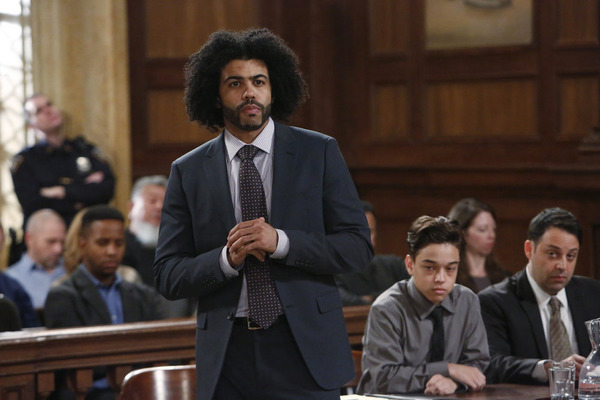 Photo Flash: First Look - HAMILTON's Daveed Diggs Guests on NBC's LAW & ORDER: SVU
