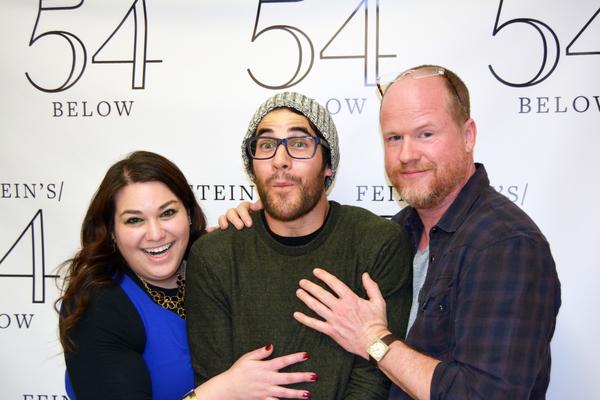 Photo Flash: Darren Criss, Joss Whedon and More Attend GUTENBERG! THE MUSICAL! at Feinstein's/54 Below
