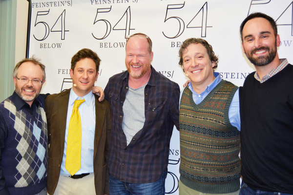 Scott Brown, Chris Fitzgerald, Joss Whedon, Jeremy Shamos and Anthony King Photo