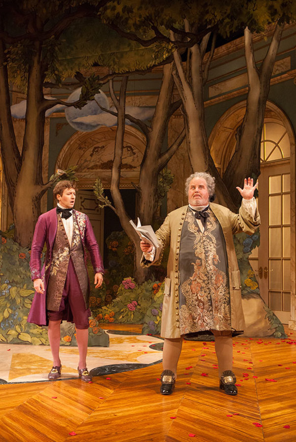 Cary Donaldson as Dorant and Adam LeFevre as Francalou