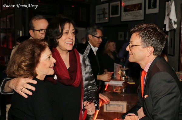 Linda Lavin, Lynne Meadow and Jim Caruso