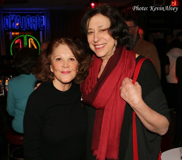 Linda Lavin and Lynne Meadow