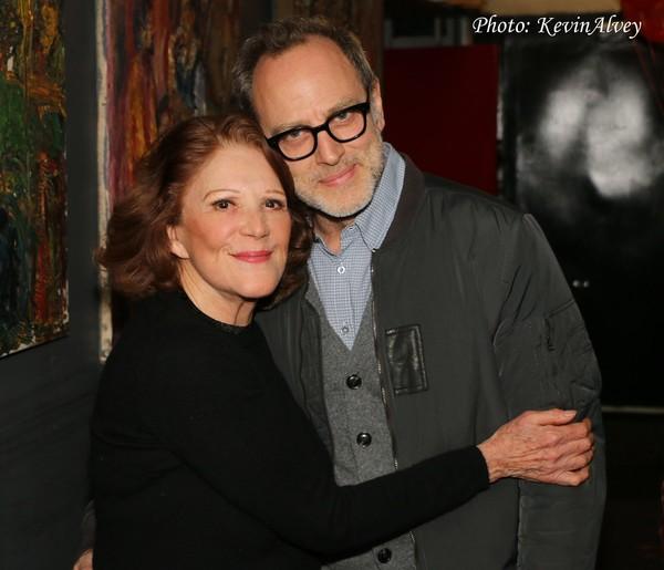 Linda Lavin and Tom Broeker