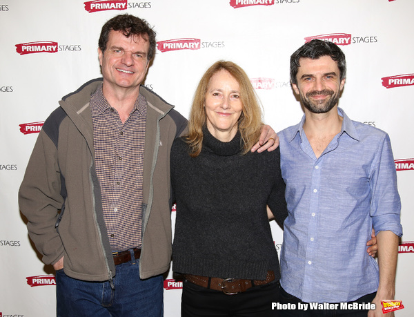 Michael Cumpsty, director Jo Bonney and Michael Crane
