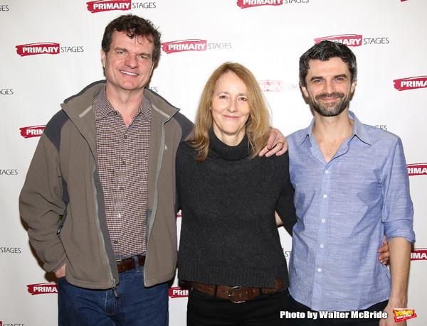 Michael Cumpsty, director Jo Bonney and Michael Crane