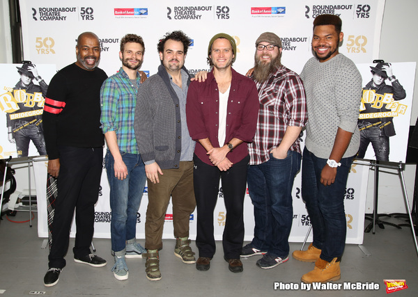 Lance Roberts, Andrew Durand, Greg Hildreth, Steven Pasquale, Evan Harrington and Devere Rogers