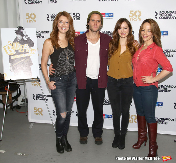Nadia Quinn, Steven Pasquale, Ahna O'Reilly, and Leslie Kritzer