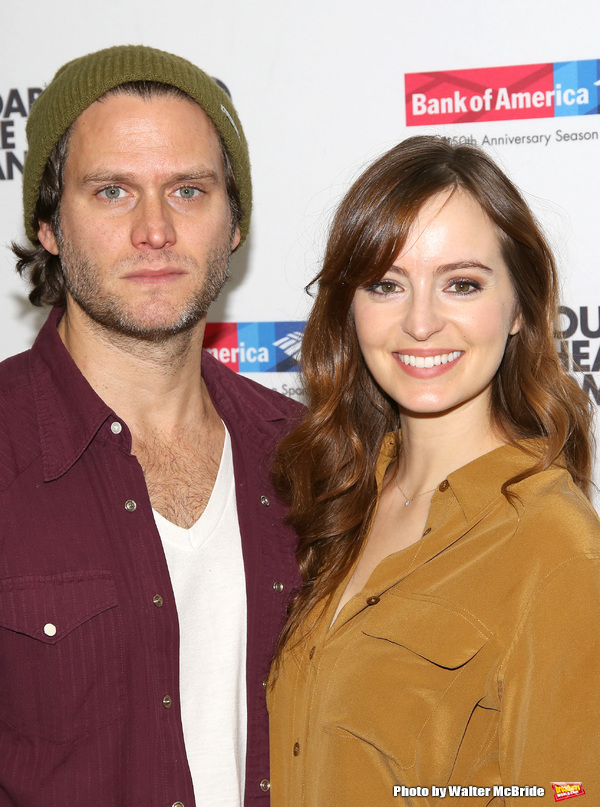 Steven Pasquale and Ahna O'Reilly