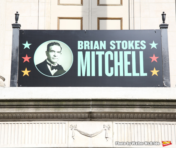 Theatre Marquee unveiling for the new Broadway musical 'Shuffle Along'  starring Audra McDonald, Brian Stokes Mitchell and Billy Porter at The Music Box Theatre on February 4, 2016 in New York City.