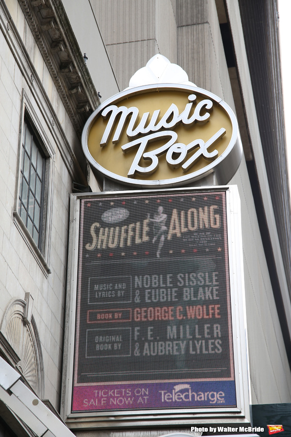 Up on the Marquee: SHUFFLE ALONG