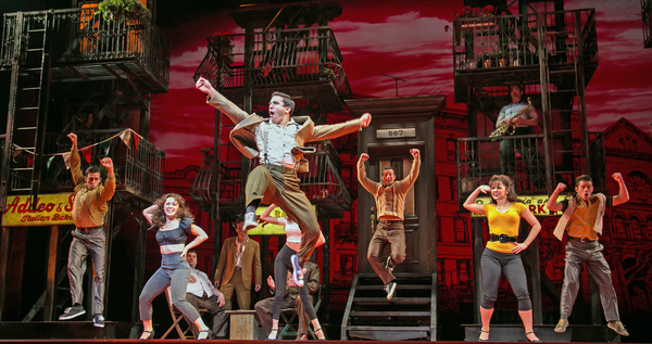 Photo Flash: First Look at Jason Gotay, Joshua Colley, Nick Cordero and More in Paper Mill's A BRONX TALE: THE MUSICAL