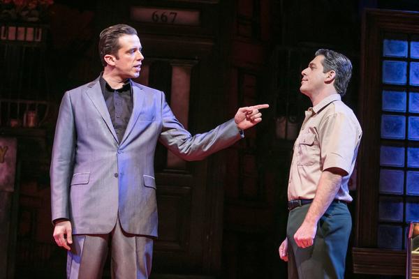 Nick Cordero (Sonny) and Richard H. Blake (Lorenzo)