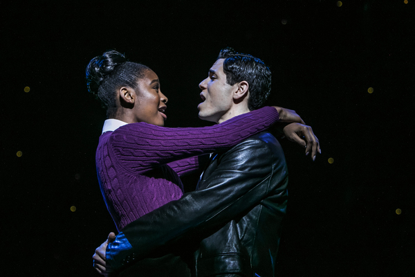 Coco Jones (Jane) and Jason Gotay (Calogero)