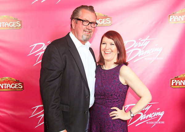 THE OFFICE's Kate Flannery with her husband Chris Haston