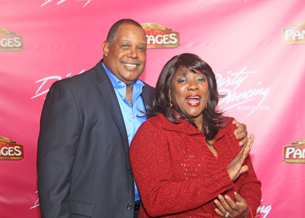 Loretta Devine and her husband Lenn Marshall
