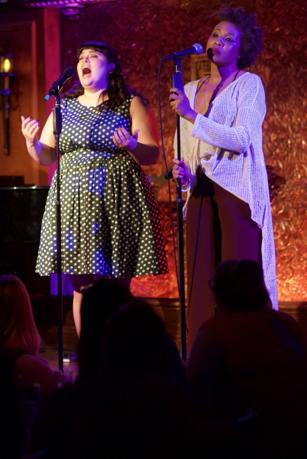 ''Leavin''s Not The Only Way To Go'' from BIG RIVER. Pictured: Patricia McCarthy and Olithea Anglin.