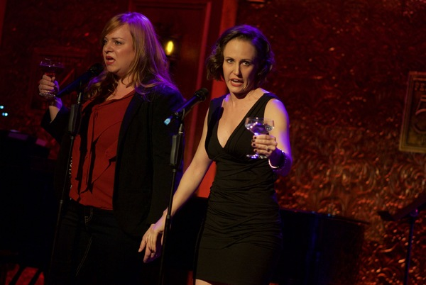 ''Take Him'' from PAL JOEY. Pictured: Jen Bechter and Ellen Zolezzi. Photo