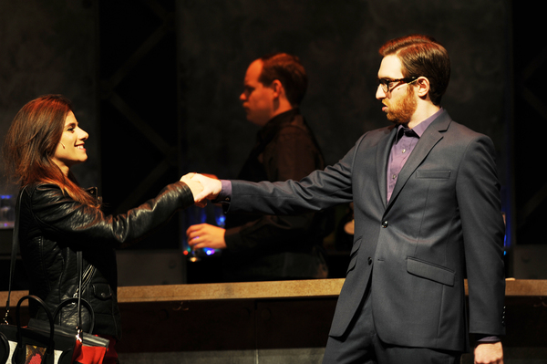 Photo Flash: First Look at Caroline Nicolian and Luke Halftery in FIRST DATE at Pittsburgh CLO