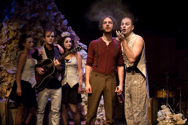 Photo Flash: First Look at Theatre 20's CHELSEA HOTEL: THE SONGS OF LEONARD COHEN