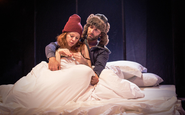 Photo Flash: First Look at Kate Morgan Chadwick and TW Leshner in BED at Echo Theater Company