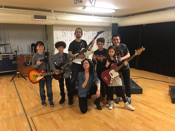 Lena Hall, Lin-Manuel Miranda, SCHOOL OF ROCK Cast