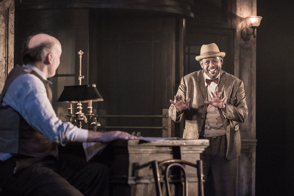 Photo Flash: First Look at Forest Whitaker & Frank Wood in HUGHIE; Previews Begin Tonight!