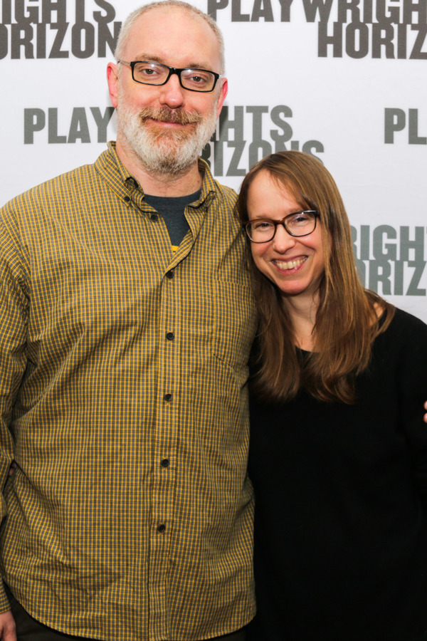 Director Ken Rus Schmoll and playwright Anne Washburn