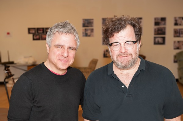 Neil Pepe and playwright Kenneth Lonergan