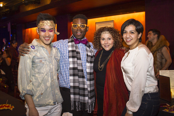 Jackson Perrin, Charles Barksdale, Tami Dahbura and Lillian Andrea De Leon