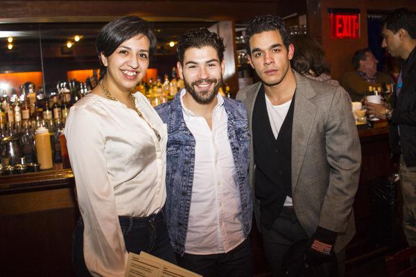Lillian Andrea De Leon, Jose Sepulveda and Gil Perez-Abraham