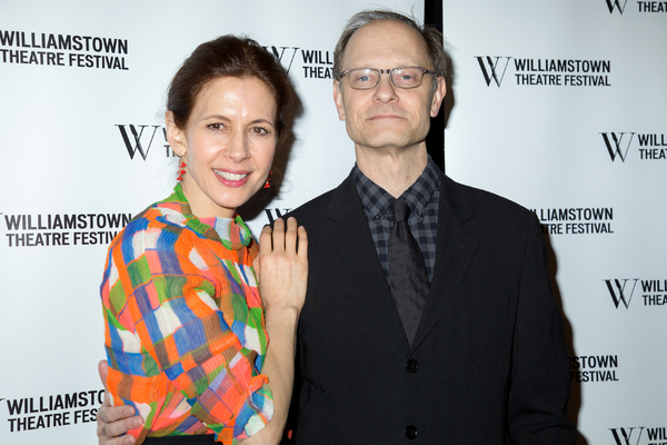Jessica Hecht, David Hyde Pierce